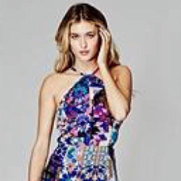 d5c1f944a31 Marciano gorgeous print KALEIDOSCOPE maxi dress. M 5b74d5670945e0166cd749de